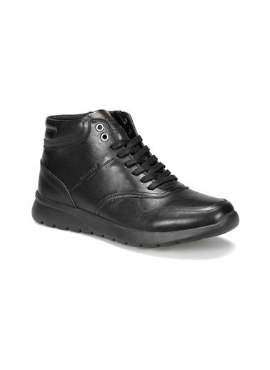 Dockers by Gerli Dockers As00249011 Düz Topuk Deri Erkek Günlük Ayakkabı Siyah